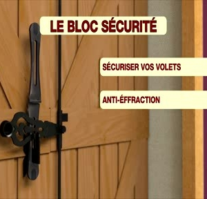 systeme anti effraction anti vol volet