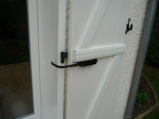 Bloque-volet standard sur Porte Fenêtre PVC